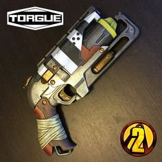 TORGUE Borderlands Revolver by lunarbomb