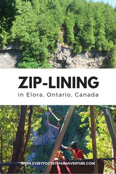 Ever wonder what it's like to zip-line? The wind on your face, the views below you -- it'll feet like you're flying! Here, I share with you details of my very first zip-lining experience. Ottawa, Places To Travel, Places To See, Vancouver, Toronto, Discover Canada, Ontario Travel, Canada Destinations, Visit Canada