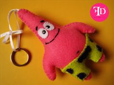 spongebob felt craft - Buscar con Google