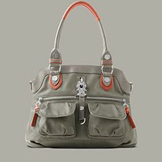 Leather Nylon - FALL 2013 - Bags - Official George Gina & Lucy Website