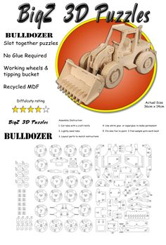 Discover thousands of images about TRAKTOR Cardboard Sculpture, Cardboard Toys, Paper Toys, Laser Cutter Projects, Cnc Projects, Woodworking Jigs, Woodworking Projects, Wooden Crafts, Diy And Crafts