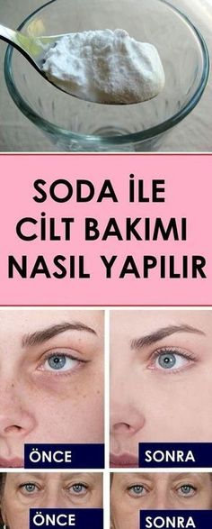 Skin care with soda - sağlık - care # Sağlık - Hautpflege - Belleza Beauty Care, Beauty Skin, Beauty Hacks, Perfume Versace Bright Crystal, Homemade Skin Care, Homemade Beauty, Face Care, Body Care, Perfumes Versace