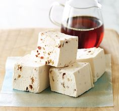 Maple-Bacon Marshmallows -- What I'll be using in my version of Roxbury Road Ice Cream from the @Jeni's Splendid Ice Creams recipe book.