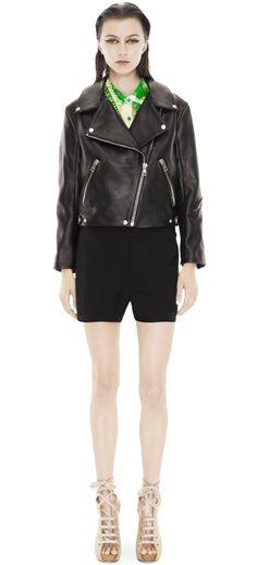 ACNE STUDIOS Rita Black Leather Jacket