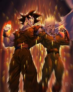 Wizyakuza Anime, Otaku, Saga Dragon Ball, Saitama One Punch Man, One Punch Man Manga, Goku Vs, Male Cosplay, Good Day Song, Old Anime