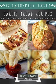 garlic bread recipes