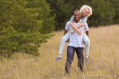 Bi-racial couple photos