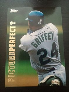 a19556d096 Ken Griffey Jr. 1999 Topps Picture Perfect? Card P1 Mariners 2016 HOF Ken  Griffey