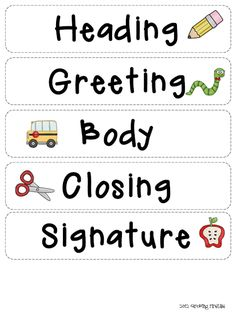 Friendly Letter Writing Pack