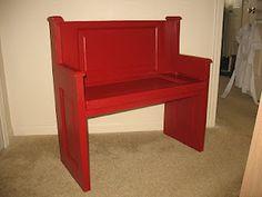 upcycled Door Furniture