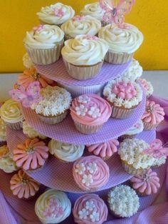 20 ideas de cupcakes para bautizo muy fáciles de hacer