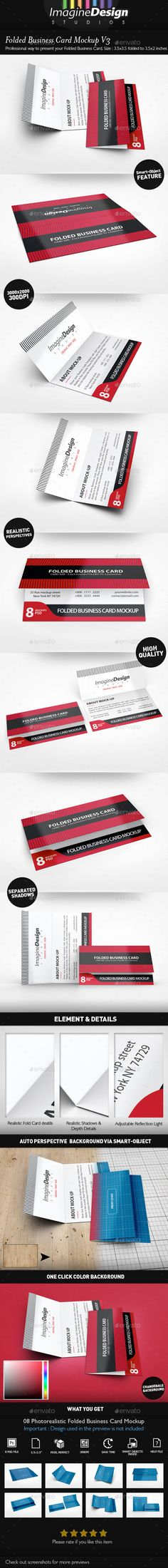 Rounded Corners Realistic Vintage Business Card Mockups | Mockup ...