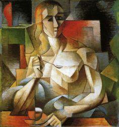 Georges Braque, Le goûter, 1911