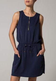 ONLY - ALLY - Sukienka letnia - niebieski