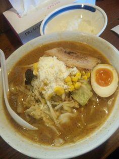 ラーメン梟「パルメザン炙り野菜味噌」