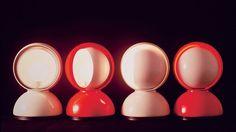 Table Lamp ECLISSE / DESIGN VICO MAGISTRETTI / BY ARTEMIDE / MODERN CLASSIC / YEAR 1967  Awarded IX ADI Compasso d'oro, 1967 | #designbest