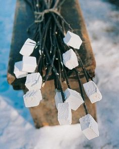 Treat your sweet tooth this holiday season with recipes for Christmas and Hanukkah marshmallows. Enjoy the treats as they are, serve them in hot cocoa to holiday guests, or wrap them in pretty packages for gift-giving.This basic recipe for homemade marshmallows is wonderfully versatile. Use vanilla extract as called for here, or substitute a portion of the vanilla for peppermint, orange, maple, or strawberry.