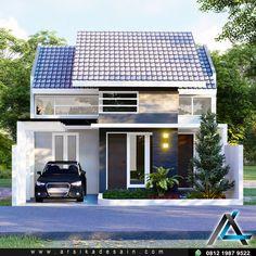 Loft House Design, Simple House Design, Home Building Design, Bungalow House Design, House Design Photos, House Front Design, Minimalist House Design, Modern House Design, Building A House