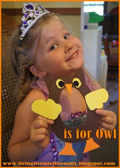 Preschool unit for letter O is for Owl unit with super cute alphabet crafts and more
