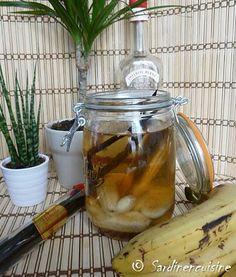Rhum arrangé banane vanille