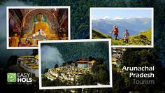 The state of Arunachal Pradesh is a breathtaking holiday getaway featuring lush green valleys, majestic mountain peaks, crystal clear lakes and spectacular waterfalls. Discover all these natural wonders with Arunachal Pradesh Tourism.