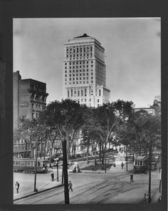 Beaver Hall Building Bell Telephone Headquarters From Victoria Square Montreal PQ Item