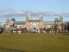 The Rijksmuseum - Amsterdam. The largest museum in the Netherlands.
