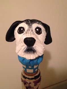 A personal favorite from my Etsy shop https://www.etsy.com/listing/150716084/customize-your-dog-wine-stopper-iii