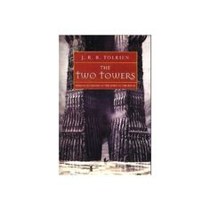 The Two Towers by J. R. R. Tolkien (Paperback): booksamillion.com ❤ liked on Polyvore featuring books and lord of the rings