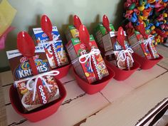 Sleepover party favors #birthday #kids #PartyFavors