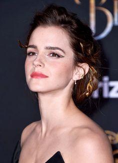emmawatsonsource:Emma Watson attends the Beauty and the Beast...