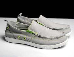 New Summer Classic Slip On Canvas Flat Men Shoes Fashion Sneakers Size 39 - 44 (Denim Blue, Light Gray, Dark Blue, Khaki)