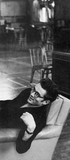 James Dean relaxing.
