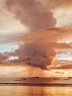 Rose Gold Rain sunset print by Samba to the Sea at The Sunset Shop. Image is a rain shower passing over the horizon during a rose gold sunset in Tamarindo, Costa Rica. Rose Gold Aesthetic, Cream Aesthetic, Orange Aesthetic, Sky Aesthetic, Aesthetic Colors, Aesthetic Images, Aesthetic Backgrounds, Aesthetic Photo, Aesthetic Wallpapers