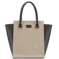 Buy Mink/Coral Paul's Boutique Mila Patent Tote Bag from our Handbags, Bags & Purses range at John Lewis & Partners. Polka Dot Fabric, Polka Dots, Paul's Boutique, Tote Bags Online, Purses And Bags, Coral, Arm Candies, Handbags, Shoe Bag