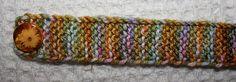 garter stitch bracelet ♡ Teresa Restegui http://www.pinterest.com/teretegui/ ♡