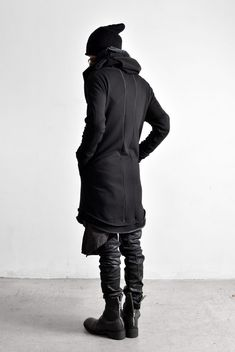 Reinhard Plank cap, A.F Artefact jacket, Army of Me shirt and pants, Incarnation boots | menswear in black