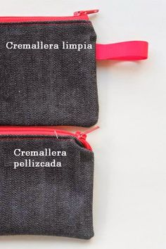 Sew Delicious: Simple Zip Pouch Tutorial For Beginners Sewing Hacks, Sewing Tutorials, Sewing Projects, Sewing Patterns, Sewing Tips, Techniques Couture, Sewing Techniques, Handmade Clothes, Diy Clothes