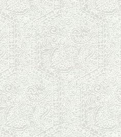 Upholstery Fabric-  Williamsburg Goa Garden SmokeUpholstery Fabric-  Williamsburg Goa Garden Smoke,