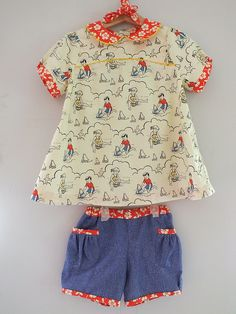 Oliver+ S Puppet Show Shorts and Tunic Size 3 | Flickr - Photo Sharing!