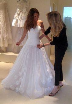 Rachel Stevens in custom made dress - Mira Zwillinger Bridal Gowns, Wedding Gowns, Rachel Stevens, Gorgeous Wedding Dress, Female Singers, Ever After, Dress Making, Wedding Planner, White Dress