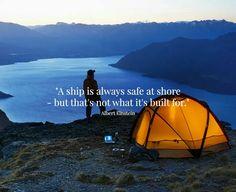Safe at shore ..