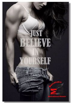 Details about Poster Bodybuilding Men Girl Fitness Workout Quotes Motivational Font Print 028 Just Believe in Yourself Bodybuilding Men women Fitness Workout Quotes Motivational Font Print 028 Fitness Workouts, Fun Workouts, Fitness Tips, Enjoy Fitness, Workout Routines, Workout Ideas, Fitness Motivation Pictures, Fit Girl Motivation, Women Fitness Motivation