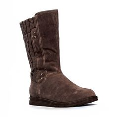 STACY COFFEE | MUK LUKS® Sweater Boots Collection