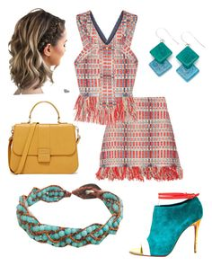 """""""Tramonto"""" by paolas91 on Polyvore featuring Tory Burch, Christian Louboutin, Encanto and NOVICA"""