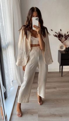Cute Casual Outfits, Chic Outfits, Fashion Outfits, Womens Fashion, Looks Chic, Looks Style, Spring Summer Fashion, Spring Outfits, Mode Ootd