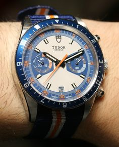 Tudor Heritage Chrono Blue Watch For 2013 Hands-On Hands-On