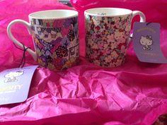 Hello Kitty x LIBERTY mugs