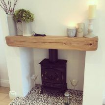 Office decoration: fake fireplace in real marble and inside a small .- Office decoration: real marble fake fireplace and inside a small wood stove to renovate burner fireplace, Leanne Cosy Living Room, Room Design, Decor, House Interior, New Living Room, Interior, Fireplace, Living Room With Fireplace, Home Decor