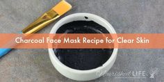 This easy charcoal face mask DIY is perfect if you have oily, acne-prone skin and clogged pores. It's simple to make and all natural - which means this is a DIY charcoal mask without glue! That makes it painless and more skin-friendly. Face Scrub Homemade, Homemade Face Masks, Homemade Skin Care, Homemade Blush, Homemade Moisturizer, Homemade Facials, Homemade Beauty, Charcoal Face Mask Diy, Charcoal Mask Benefits